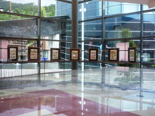 Exposición en el Museu La Massana Cómic