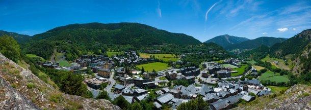 Pueblo de Ordino en Andorra