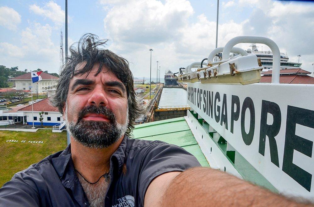 Luis Miguel Portela, una vuelta al mundo sin aviones