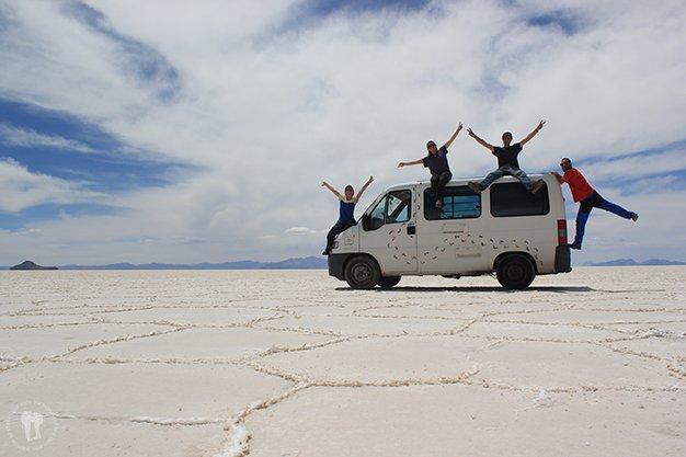 Cómo preparar un gran viaje por el mundo. Salar de Uyuni, Bolivia