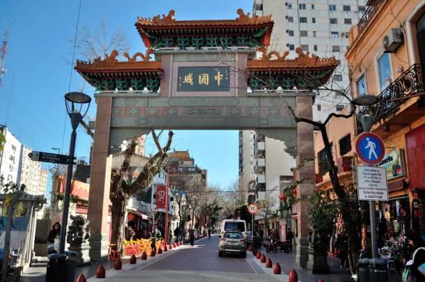 Barrio chino de Belgrano en Bueno en Buenos Aires