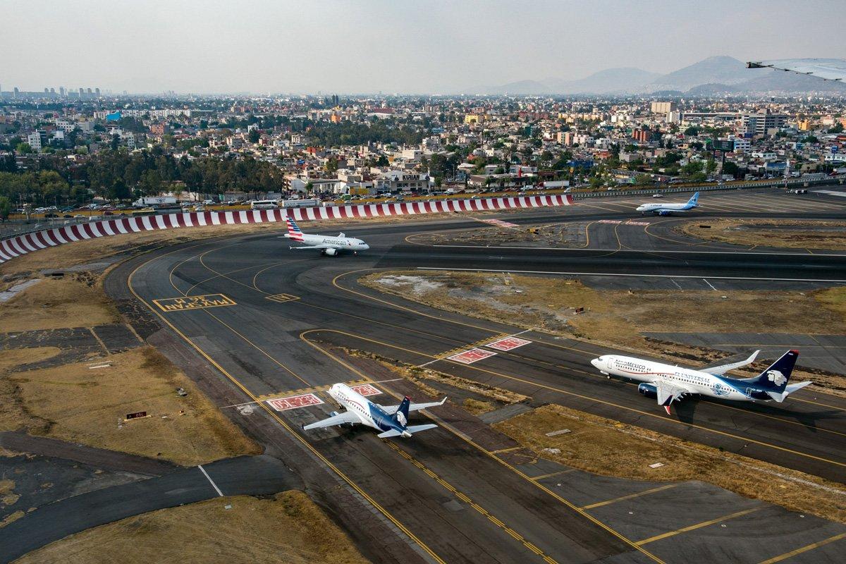 cómo llegar del aeropuerto de Ciudad de México al centro