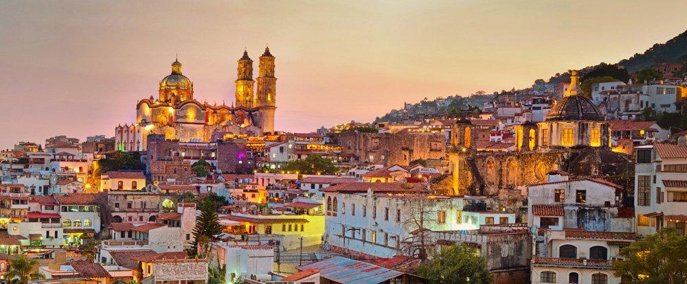 Taxco, una de las excursiones cerca de Ciudad de México