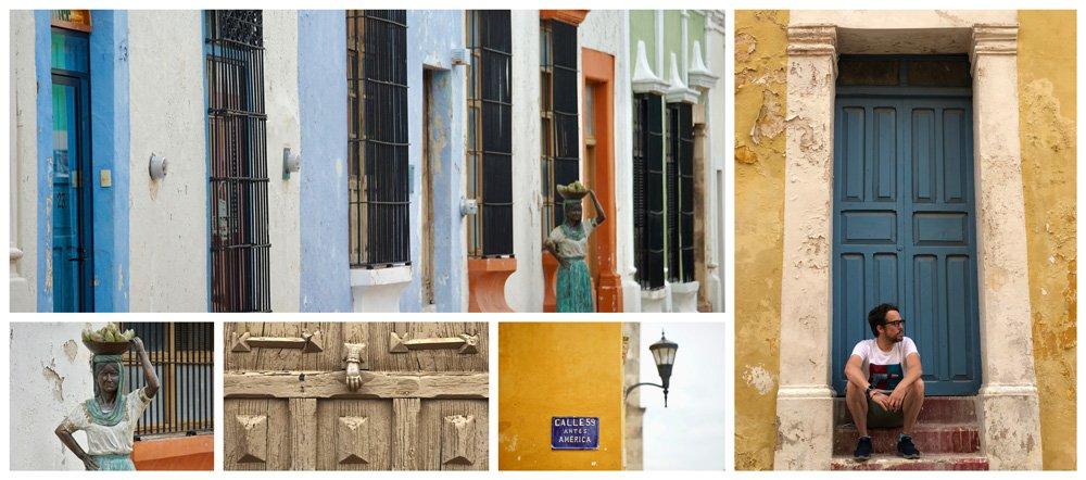 Que ver en Campeche: la famosa calle 59 en el Centro Histórico de San Francisco de Campeche