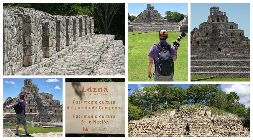 Ruinas mayas de Edzná