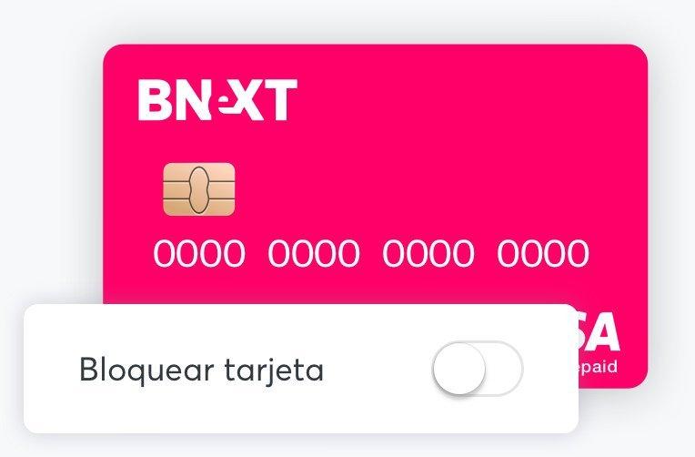 Cómo bloquear la tarjeta Bnext en la app, unas de las mejores tarjetas para viajar