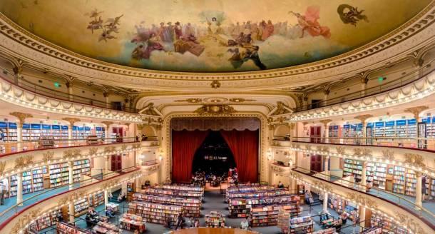 Ateneo Grand Splendid, un teatro majestuoso hecho librería