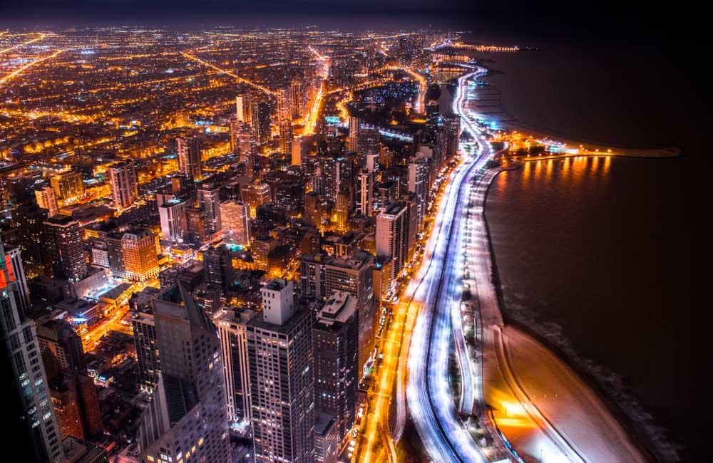 Chicago en 360 desde su observatory deck en el edificio John Hancock