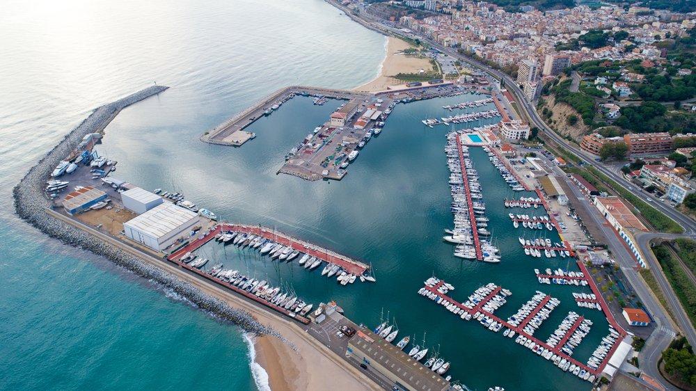 Arenys de Mar en la Costa del Maresme