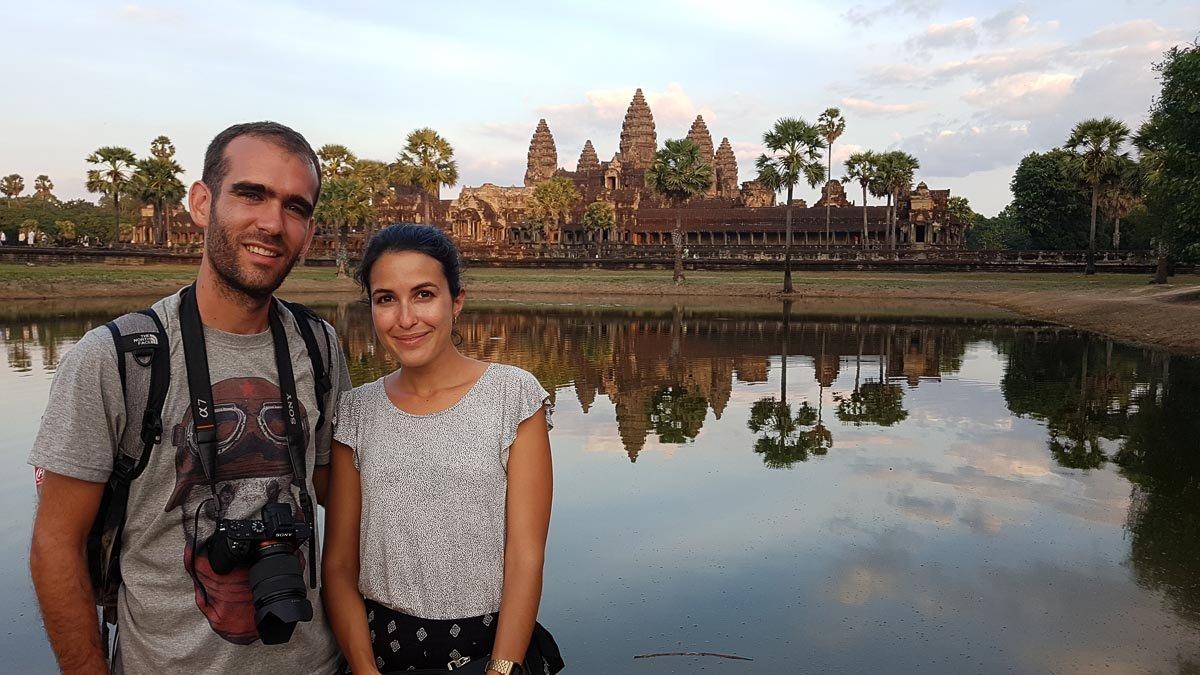 Alicia Aradilla y Sergio Alonso de Homesapiens de viaje en pareja por el mundo