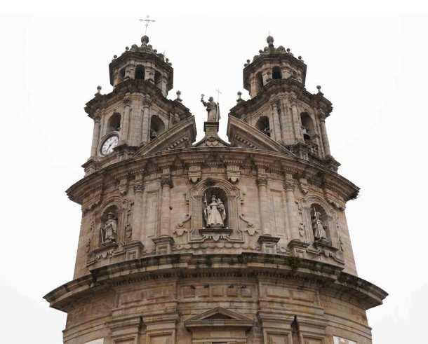 Santuario virgen de la Peregrina Pontevedra