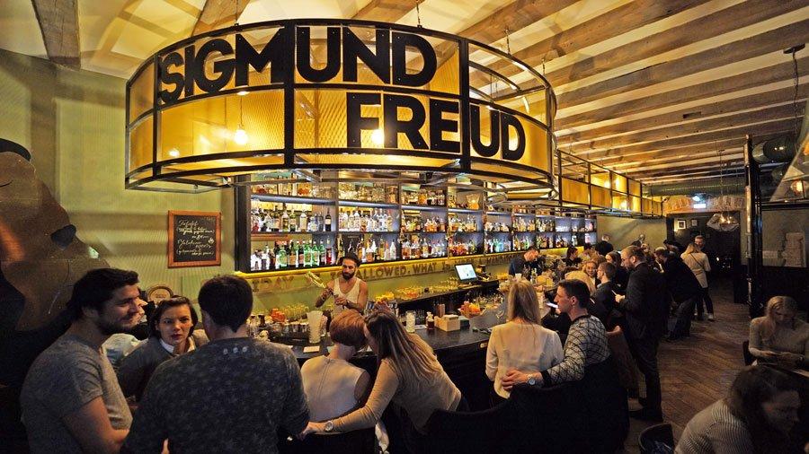 Dónde comer y beber en Tallin, el bar Sigmund Freud
