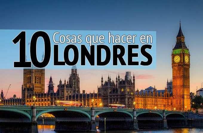cosas que hacer en Londres