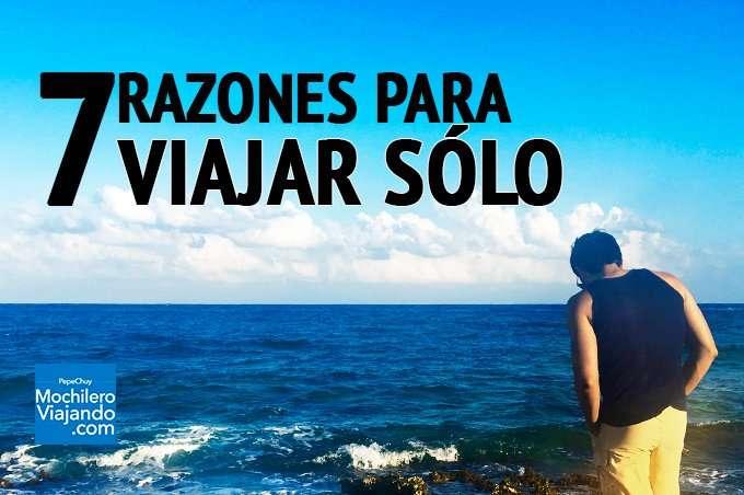 7 grandes razones para viajar solo