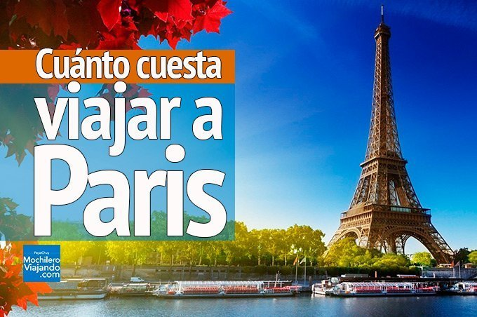 cuánto cuesta viajar a paris