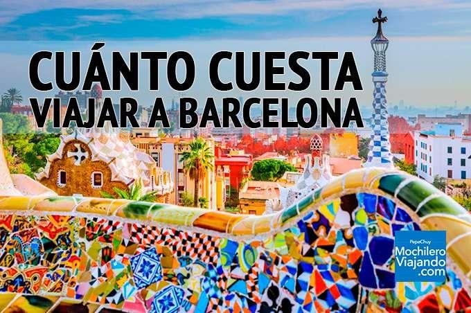 cuanto cuesta viajar a barcelona