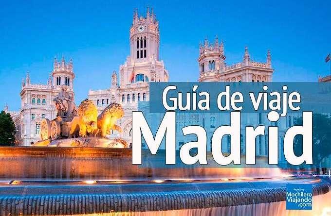guia de viaje a madrid españa
