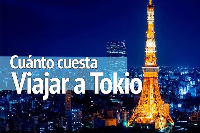 ¿Cuánto cuesta viajar a Tokio?