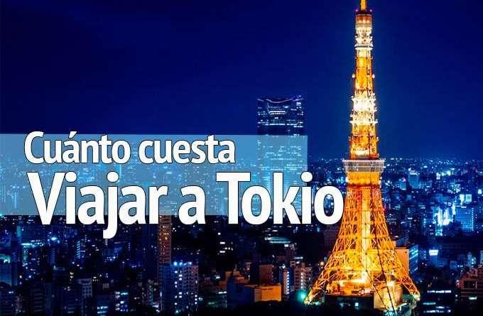 Cuánto cuesta viajar a Tokio