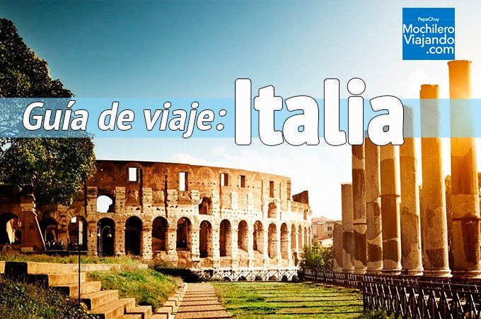 Guía de viaje a Italia