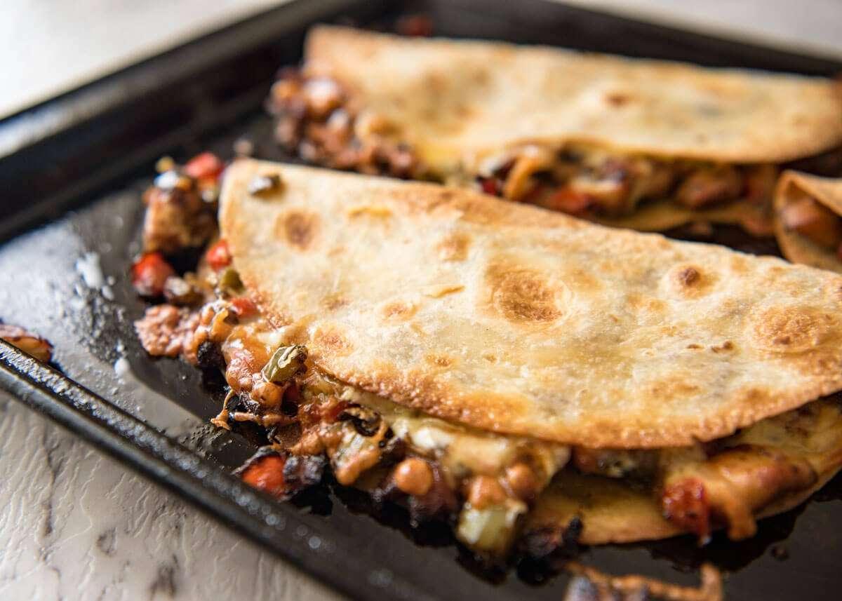 comida mexicana - quesadilla