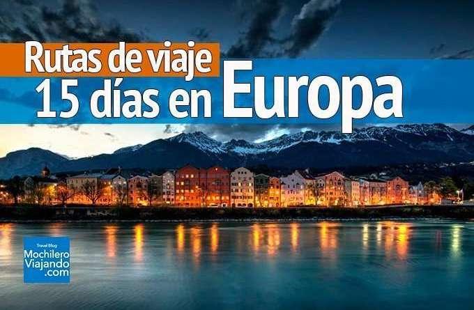 Rutas de viaje por Europa
