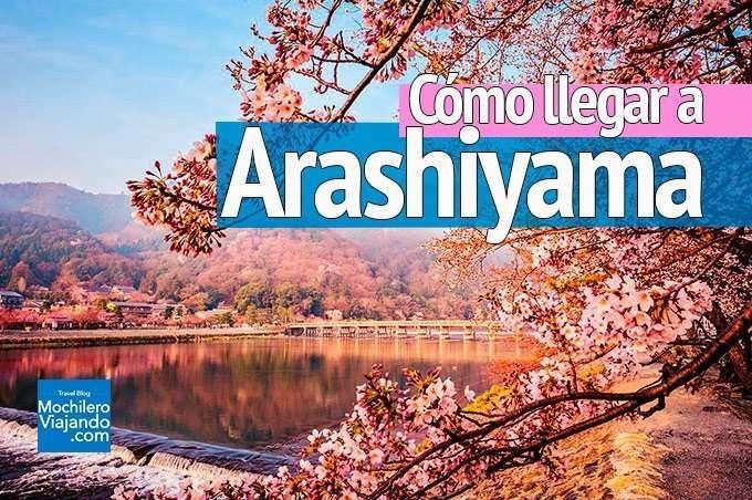 llegar a arashiyama