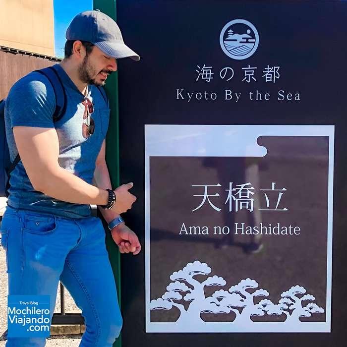 Cómo llegar a Amanohashidate (天橋立)