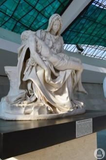 A réplica da Pietá, de Michelângelo