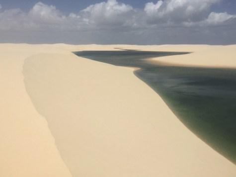De cima das dunas
