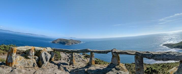 Mirador de Fedorentos com Ilha de Onza ao fundo