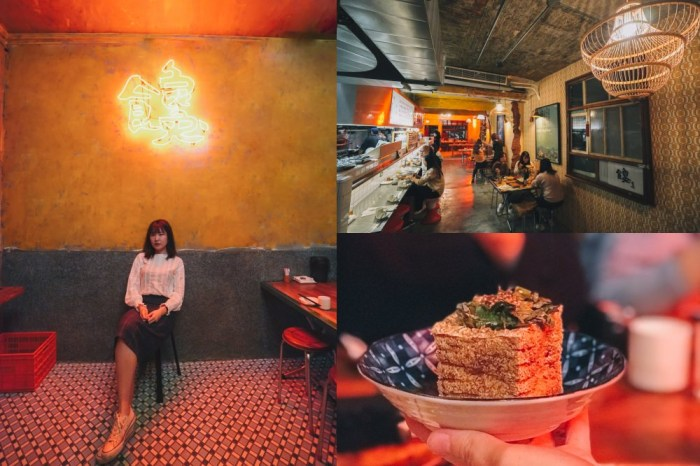 大安站美食 饞食坊:搬家後二訪,台味十足的文青台式居酒屋@捷運大安站