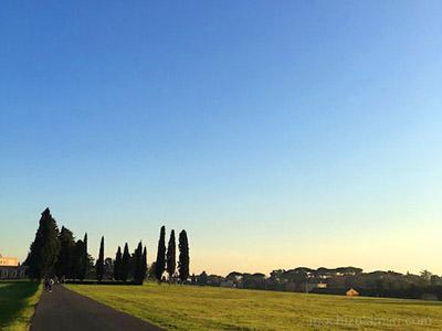 DIARY:私のローマ / オレンジの樹と、鐘の音 その13