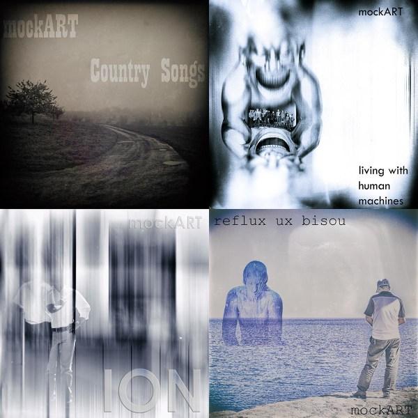 All mockART albums re-released on CD