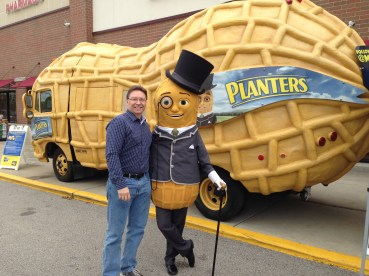 Hanging with Mr. Peanut