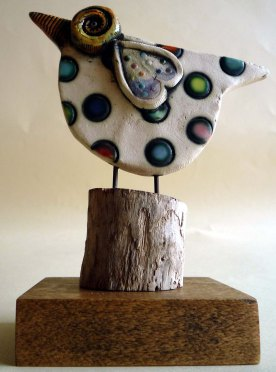 Ceramic Bird © Jan Lane