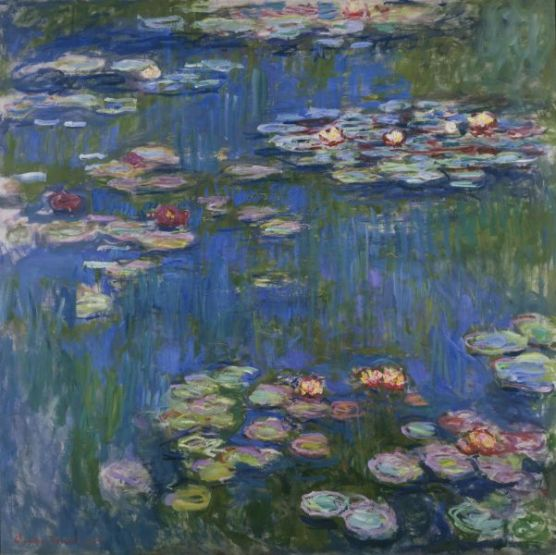 Monet Water Lilies 1916