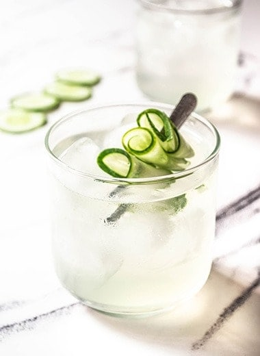 Cucumber Gimlet Recipe - Easy Mocktails Recipes - Mixed Drink Recipes
