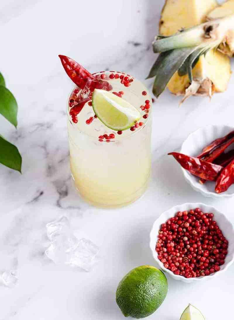 Chile Lime Pineapple Soda Recipe