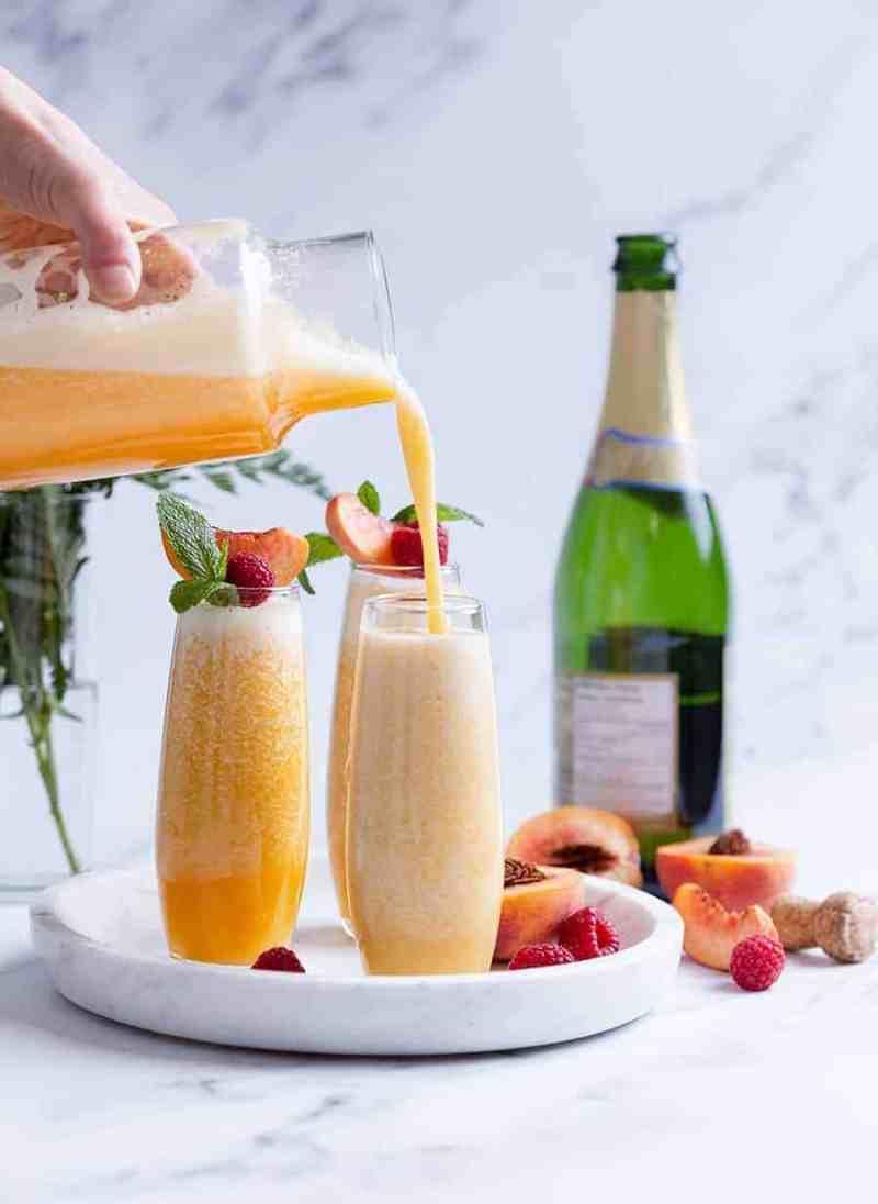Non Alcoholic Bellini Recipe