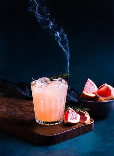 Fresh Grapefruit Kombucha with Smoke Recipe