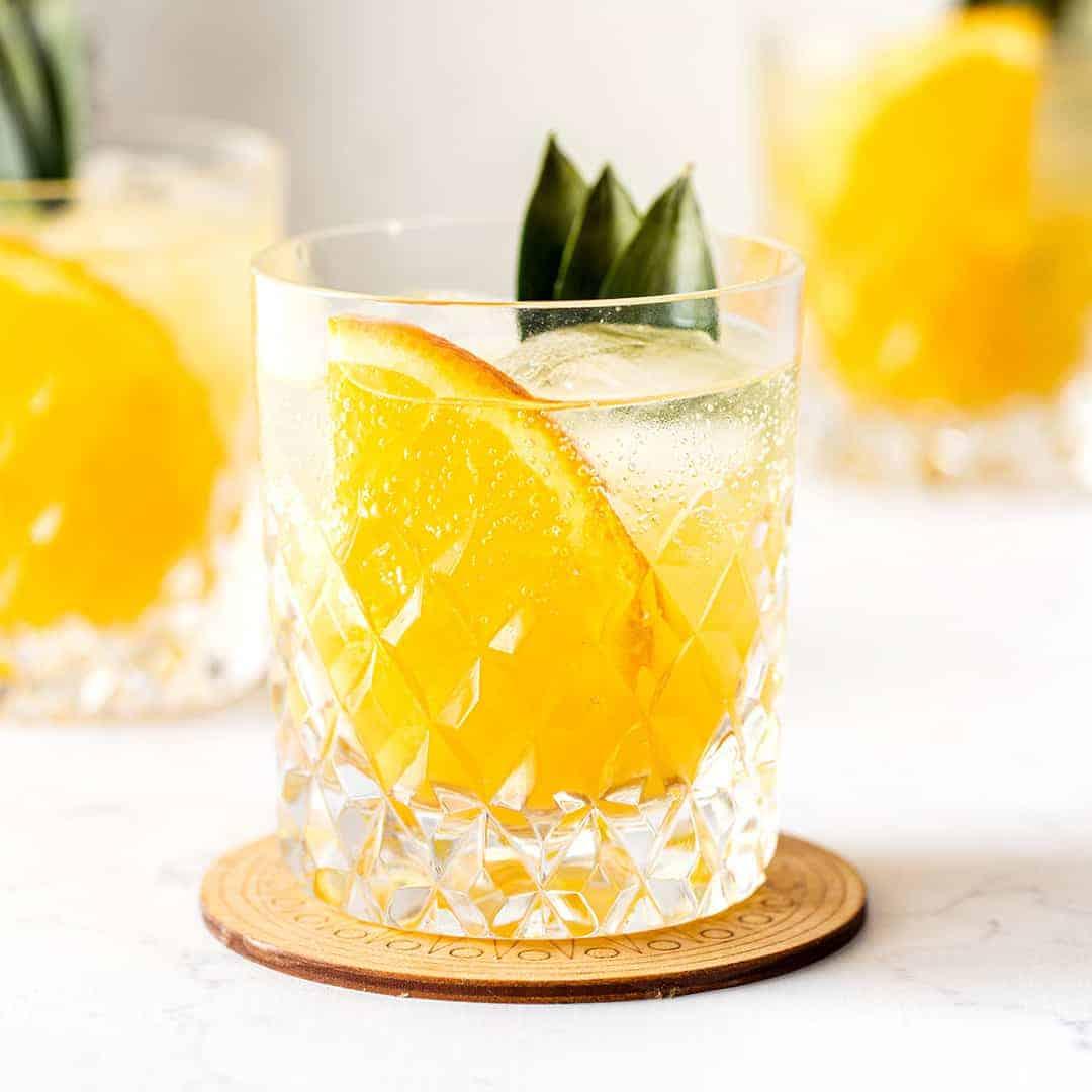 Ginger Pineapple Refresher Recipe