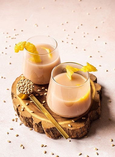 Honey Lemon Barley Water