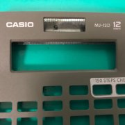 Calculator Plastic Prototype made by JIERCHEN Mockup