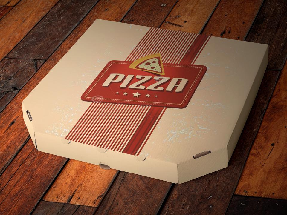 Download Pizza Box Branding Mockup PSD - Mockup Love