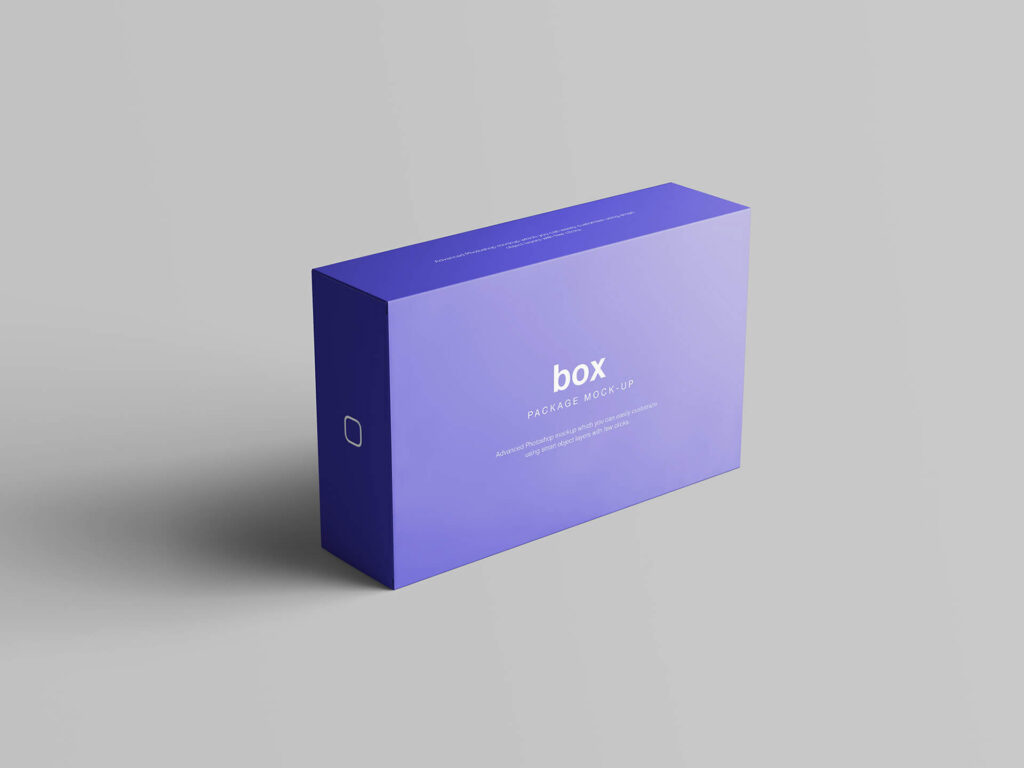 Download Free Box Packaging Set Mockup PSD Template | Mockup Den