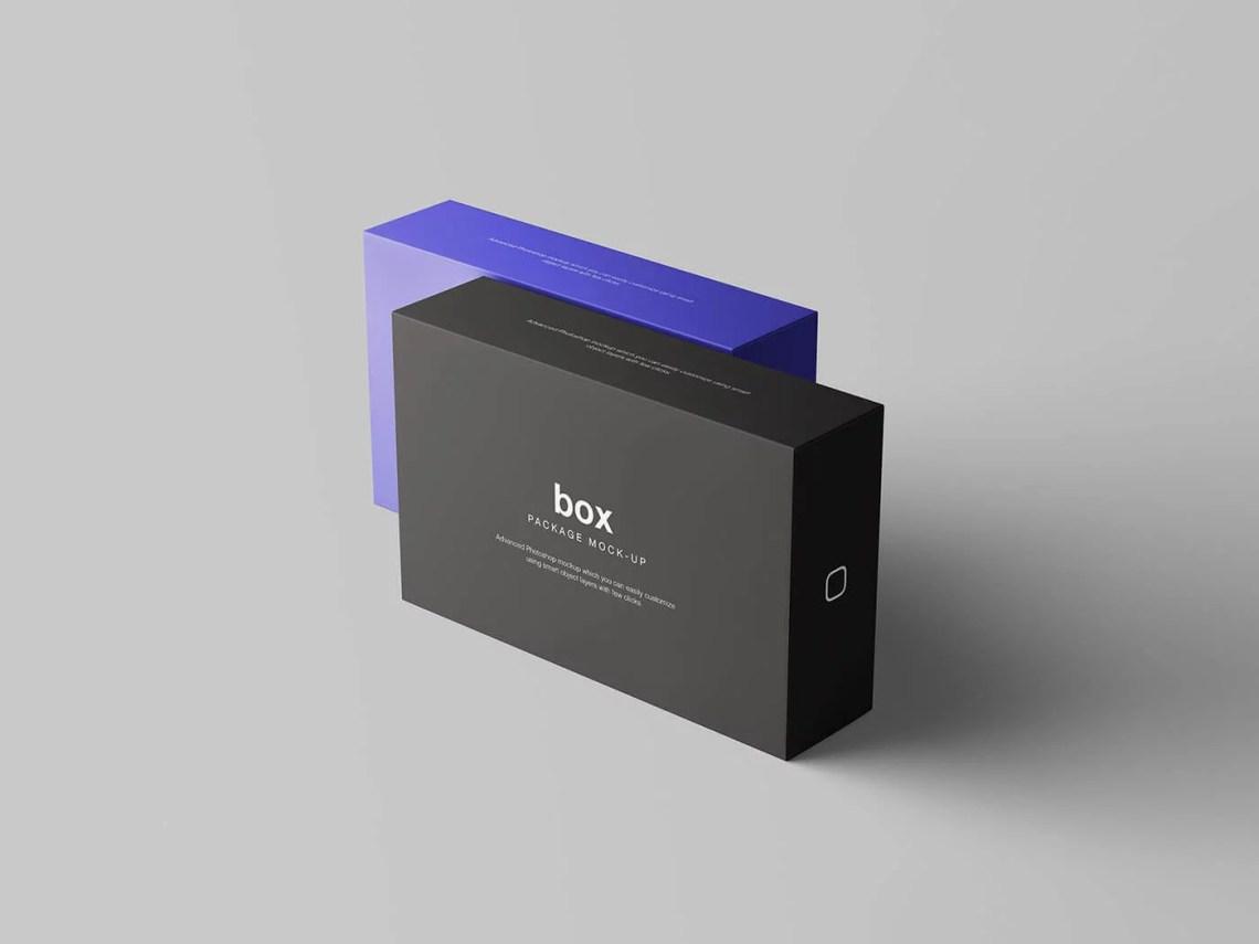 Download Free Box Packaging Set Mockup PSD Template | Mockup Den