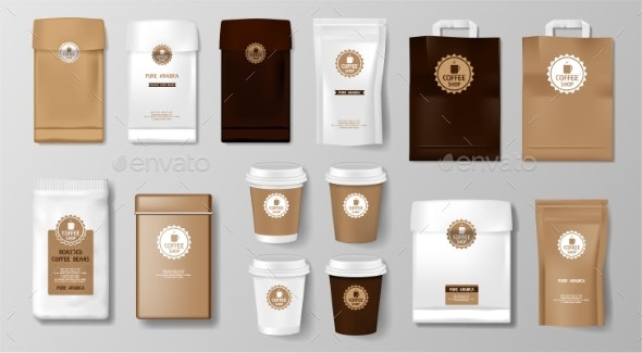 Download 40+ Best Free Coffee Packaging Mockup PSD for Branding