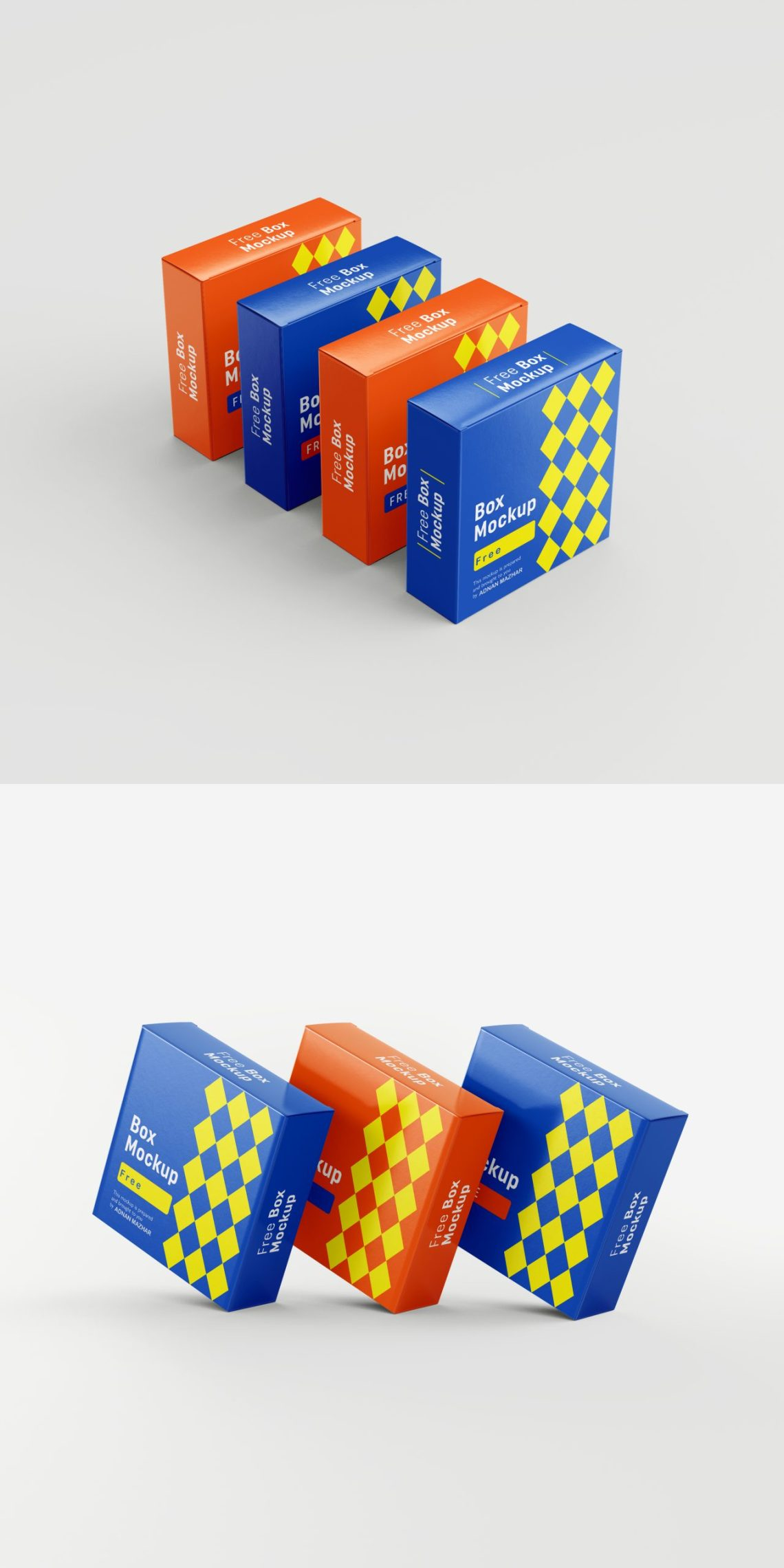 Download Free Box Mockup PSD Template | Download