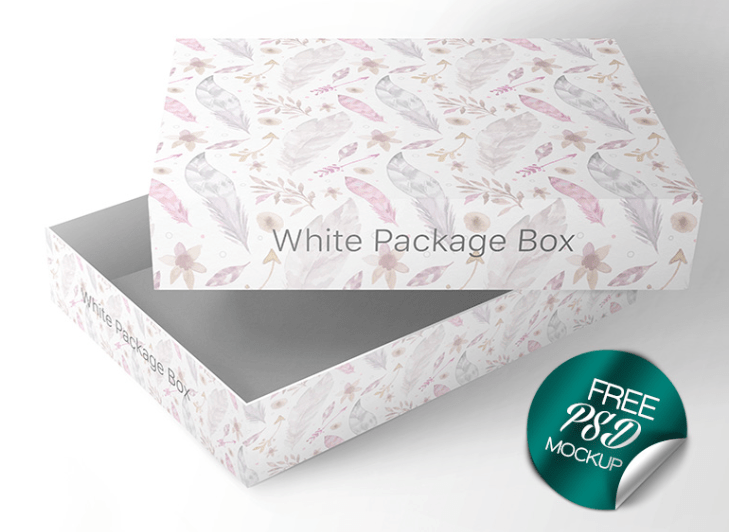 Download Packaging Box PSD Mockup Template - Mockup Free Downloads